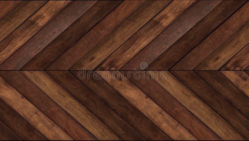 El fondo de madera inconsútil de la textura del modelo, la madera oblicua para la pared y el piso diseñan fotos de archivo