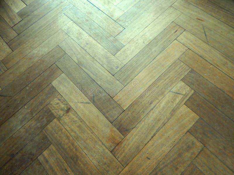 El fondo de madera de la textura del vintage, piso viejo rayó tablones fotografía de archivo