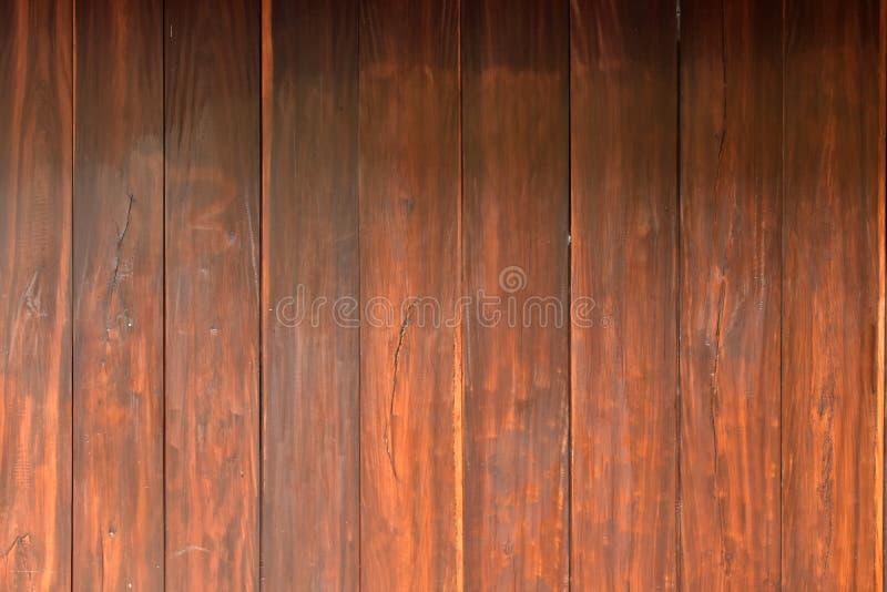 El fondo de madera de la textura de la pared del tablón de Brown, se puede utilizar como fondo y papel pintado fotografía de archivo libre de regalías