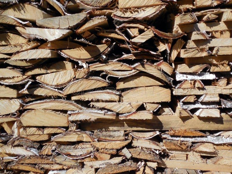 El fondo de tableros de madera arregló caras del extremo fotografía de archivo libre de regalías