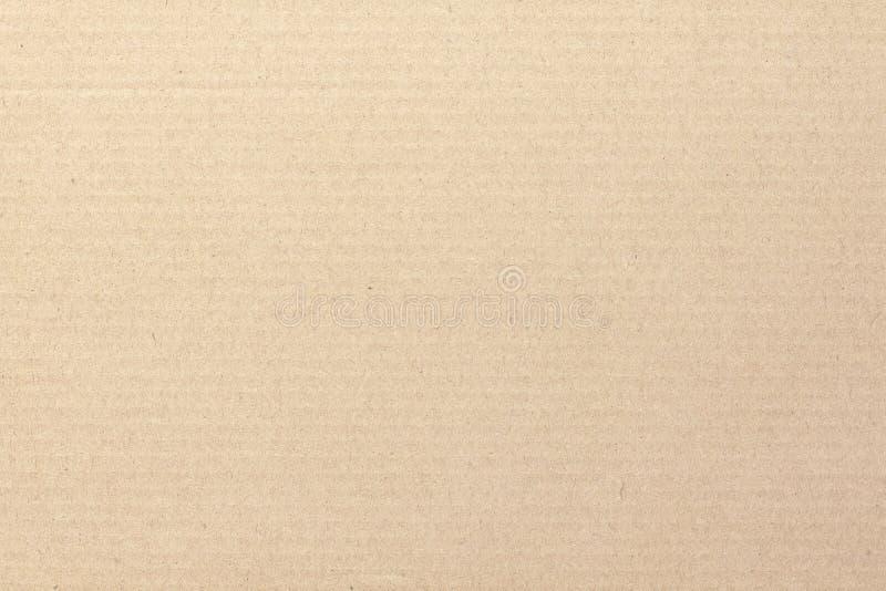 El fondo del extracto de la hoja de la cartulina de Brown, textura de recicla la caja de papel en el viejo modelo del vintage par imágenes de archivo libres de regalías