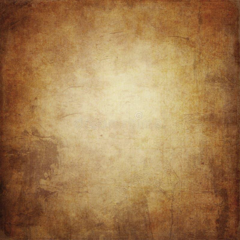 El fondo del grunge de Brown, textura de papel, pintura mancha, las manchas, VI ilustración del vector