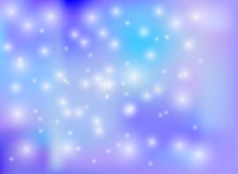 El fondo del país de las maravillas del invierno del vector, Wallpaper la plantilla colorida, días de fiesta ilustración del vector