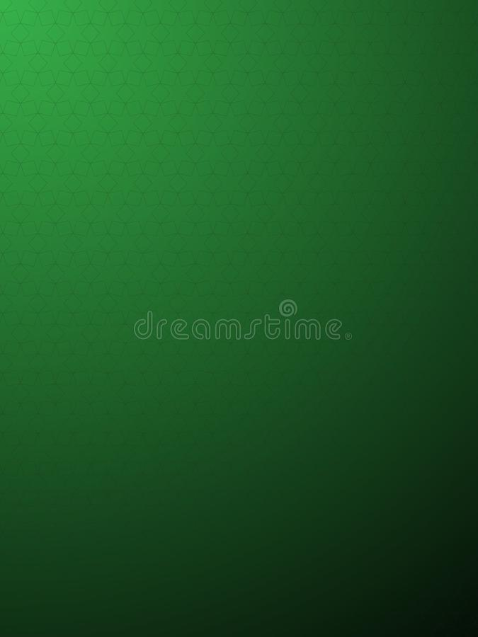 El fondo del vector con el gráfico protagoniza en el color verde libre illustration
