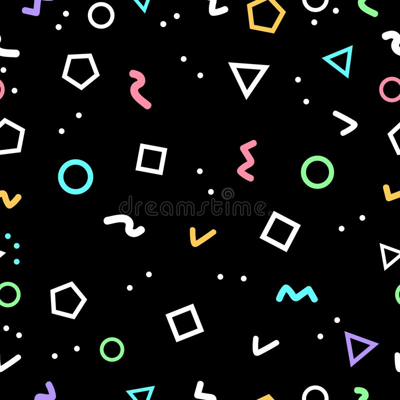 El fondo geométrico abstracto, formas de la geometría hizo por los triángulos libre illustration