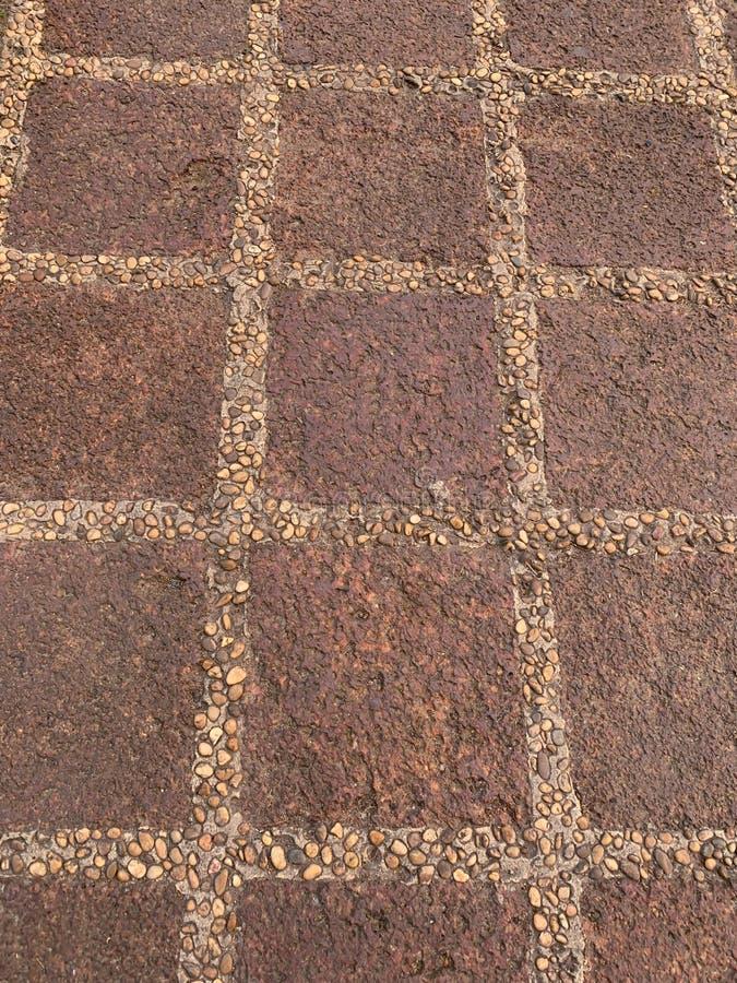 El fondo marrón del camino imagenes de archivo