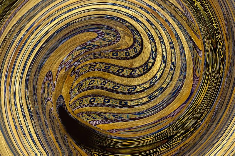 El fondo mezclado de la pintura mezcló textura de acrílico del modelo imágenes de archivo libres de regalías