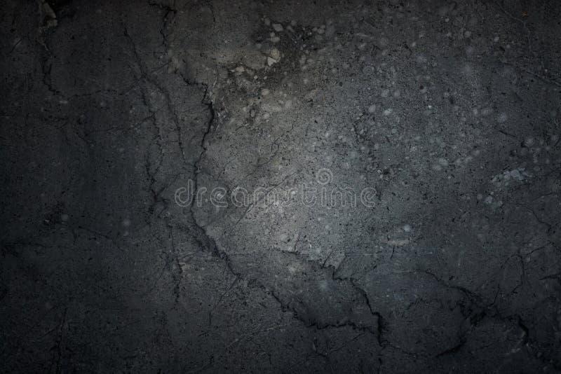El fondo negro, extracto oscuro del grunge, pared, cementa el backg negro imagen de archivo
