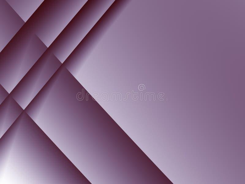 El fondo rosado oscuro del fractal con la travesía alinea el modelo libre illustration