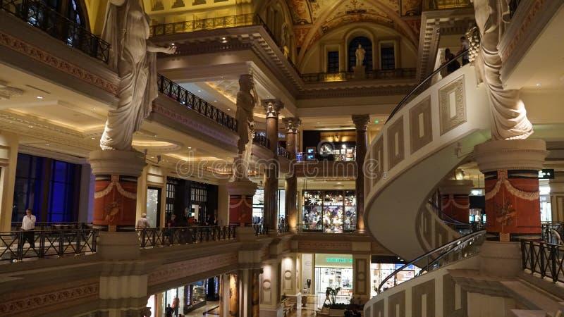 El foro hace compras en Las Vegas imágenes de archivo libres de regalías