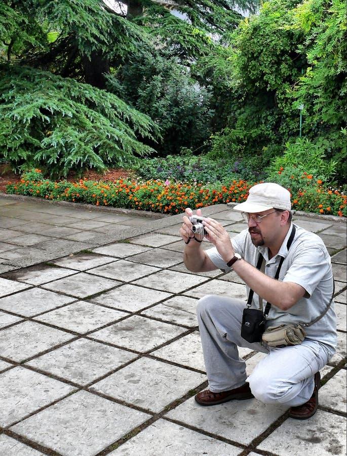 El fotógrafo foto de archivo libre de regalías