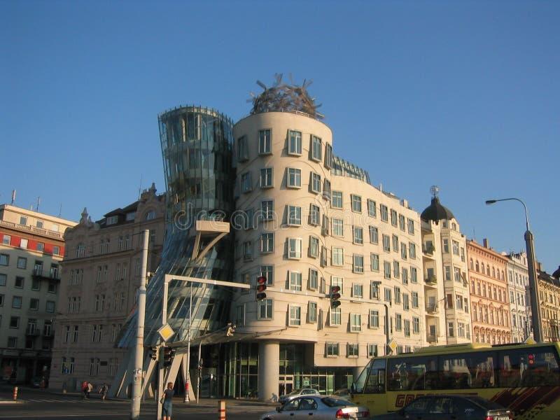El Fred y el jengibre que construyen Praga, República Checa foto de archivo libre de regalías