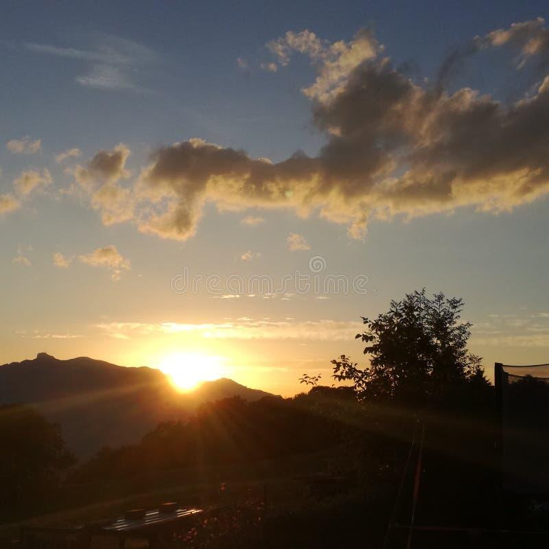 El fregadero del sol fotos de archivo libres de regalías