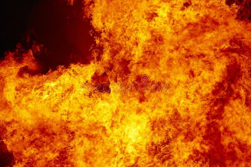 El fuego flamea el detalle Emergencia del bombero Emisión de carbono fotos de archivo