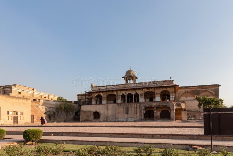El fuerte de Lahore en Lahore imagen de archivo libre de regalías