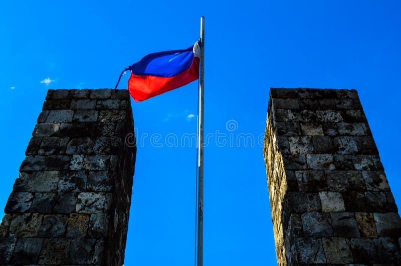 El fuerte histórico San Pedro, Cebú, Filipinas imagenes de archivo