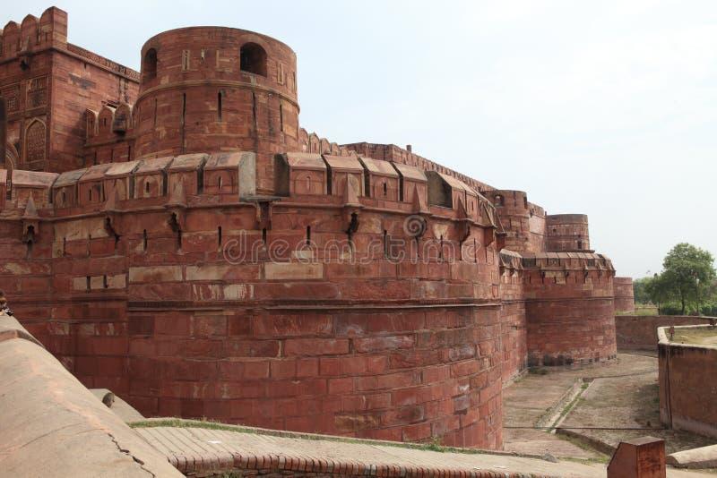 Download El Fuerte Rojo De Agra La India Foto de archivo - Imagen de agra, cuarteles: 42445544