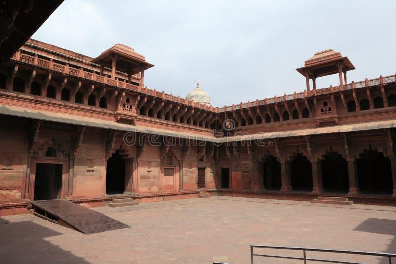 Download El Fuerte Rojo De Agra La India Foto de archivo - Imagen de asia, agra: 42445598