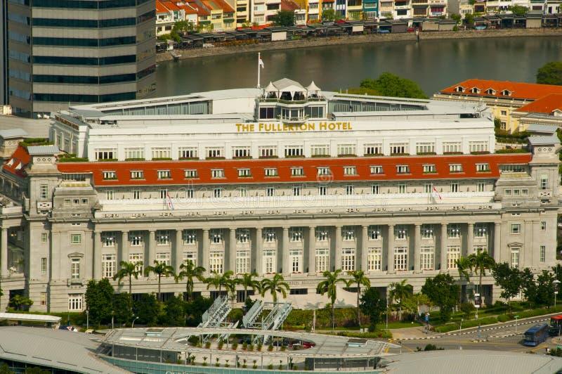 El Fullerton que el hotel es un hotel de lujo de cinco estrellas se abrió en 1928 fotos de archivo