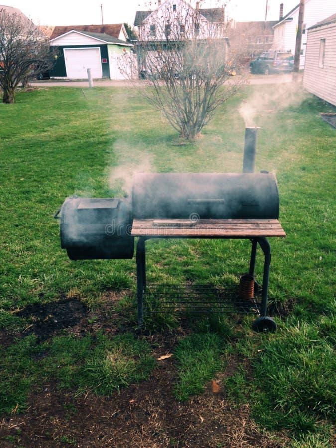 El fumar del verano imágenes de archivo libres de regalías