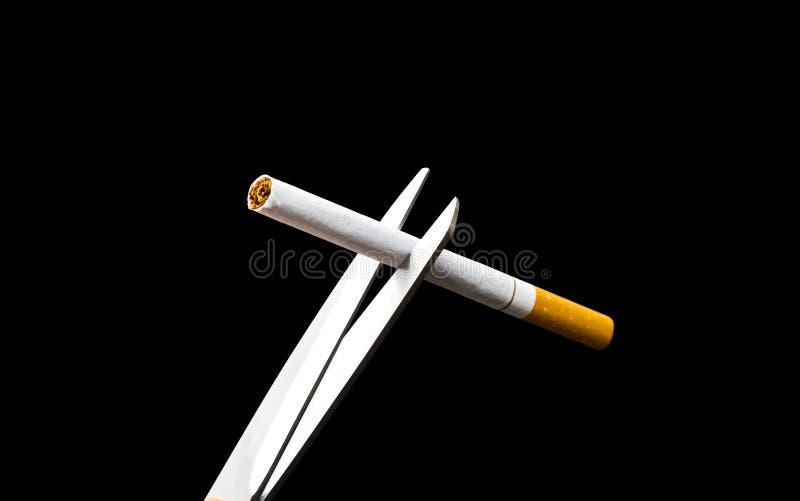 El fumar salido fotografía de archivo libre de regalías