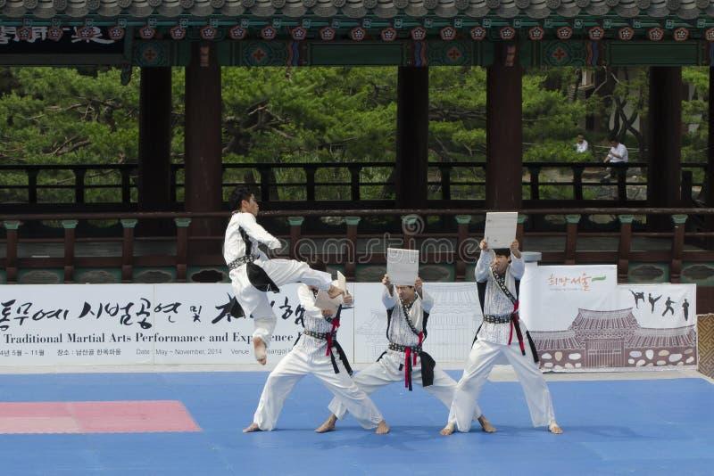 Download El Funcionamiento Del Arte Marcial Y El Evento Coreanos Tradicionales De La Experiencia Muestran Foto editorial - Imagen de experiencia, retroceso: 41919676