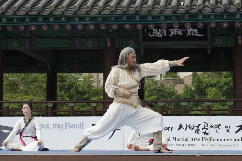 Download El Funcionamiento Del Arte Marcial Y El Evento Coreanos Tradicionales De La Experiencia Muestran Foto de archivo editorial - Imagen de impacto, demostración: 41920018