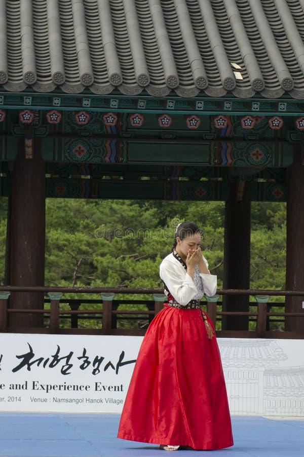 Download El Funcionamiento Del Arte Marcial Y El Evento Coreanos Tradicionales De La Experiencia Muestran Foto de archivo editorial - Imagen de experiencia, agradable: 41920133