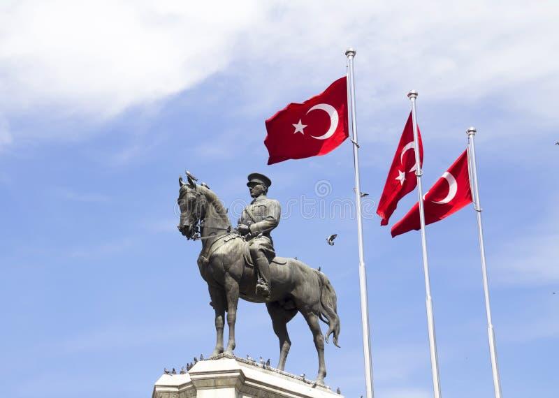 El fundador de Turquía moderna imágenes de archivo libres de regalías