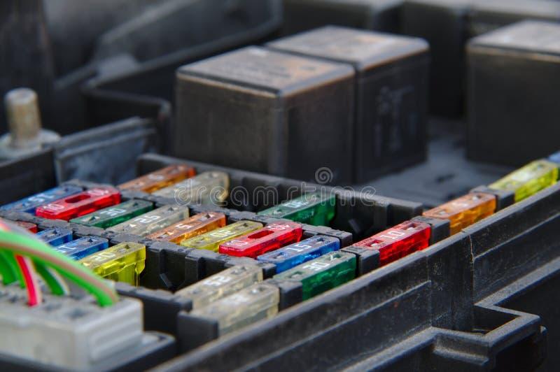 El fusebox imágenes de archivo libres de regalías