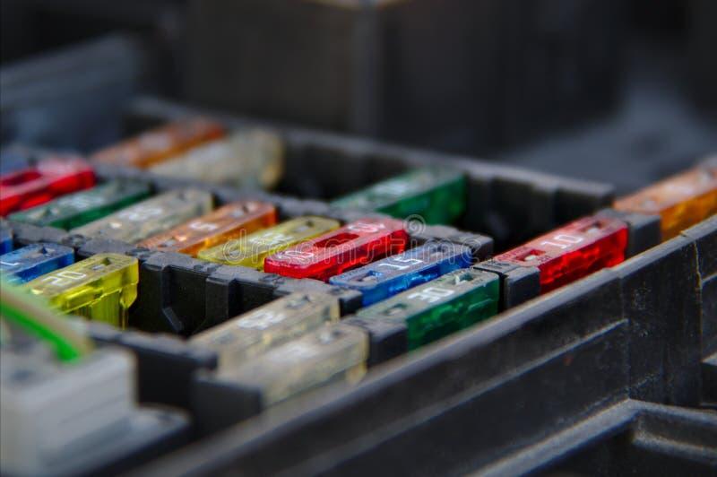 El fusebox foto de archivo