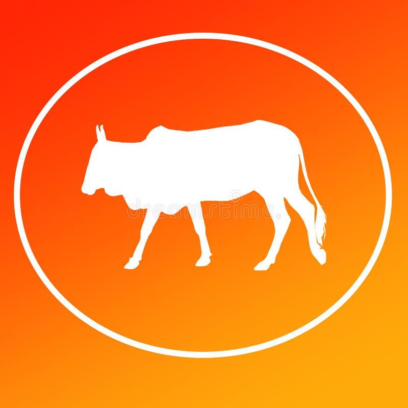 El ganado nacional acobarda a Logo Background Banner libre illustration