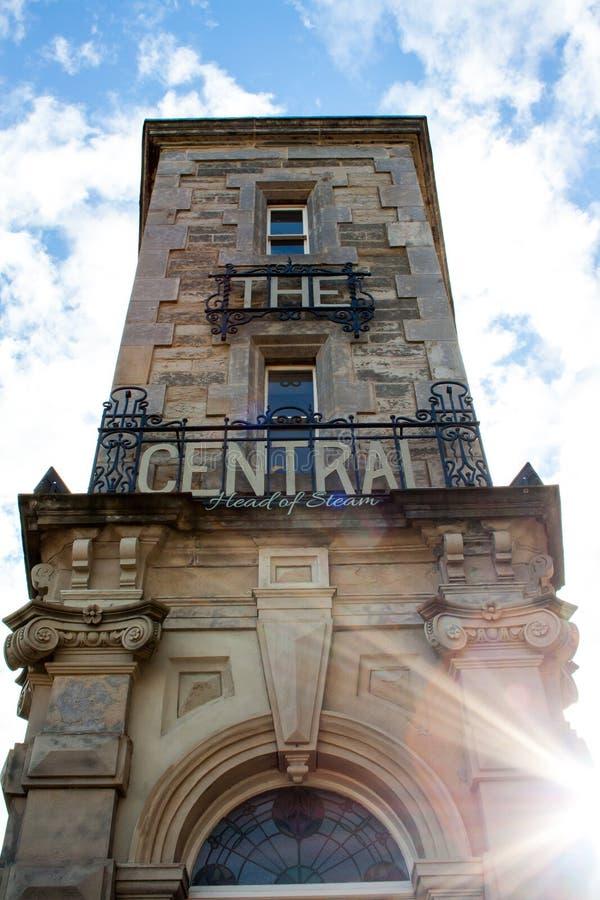 El Gateshead central fotos de archivo