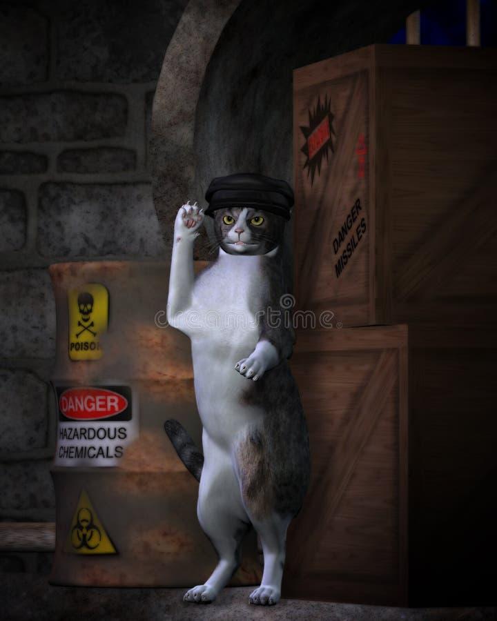 El gato de la calle libre illustration