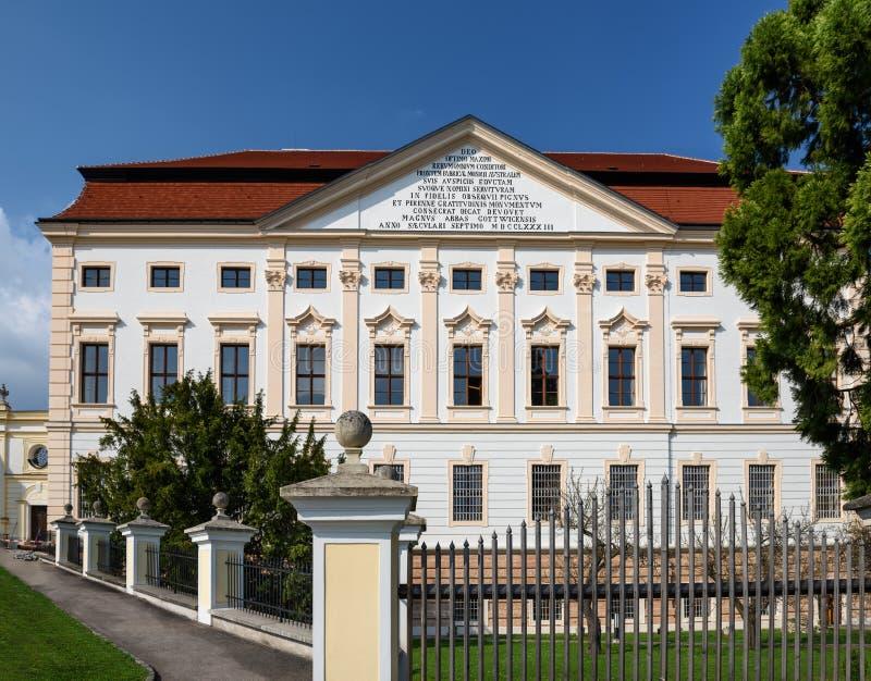 El germen de la casa de la juventud: Jugendhaus Goettweig, una Austria más baja imagen de archivo libre de regalías
