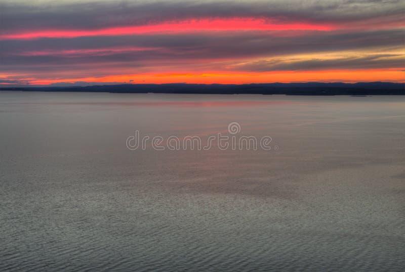 El gigante durmiente es un parque provincial grande en el lago Superior al norte de Thunder Bay en Ontario fotos de archivo