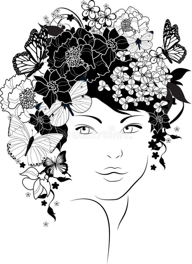 El gir hermoso libre illustration