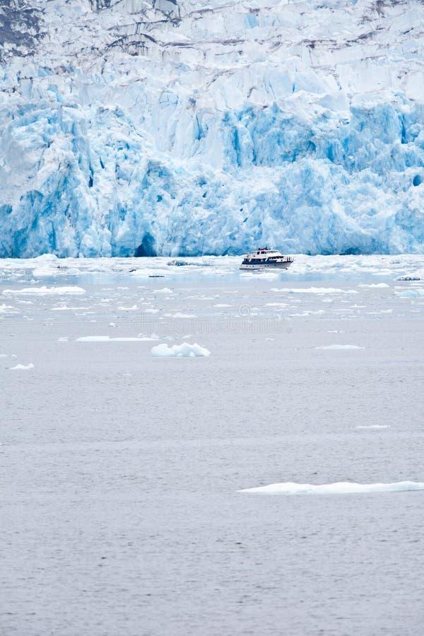 El glaciar de Dawes foto de archivo libre de regalías
