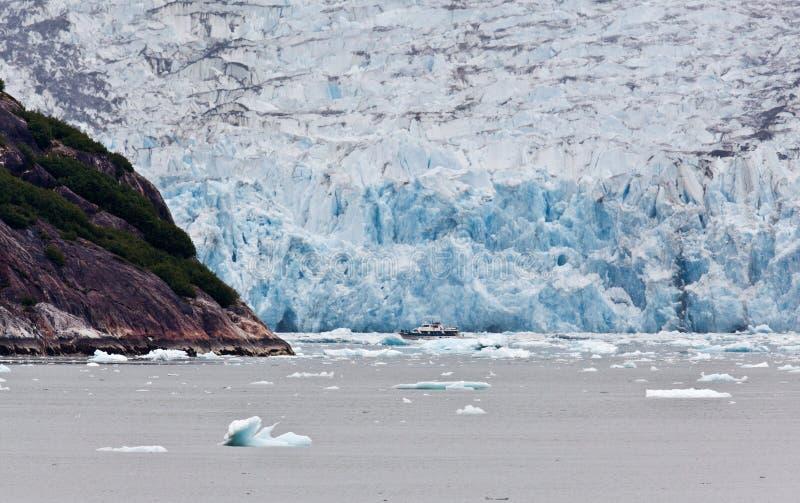 El glaciar de Dawes imagen de archivo