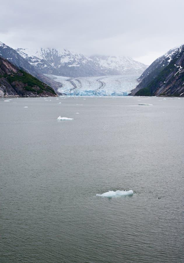El glaciar de Dawes imagenes de archivo