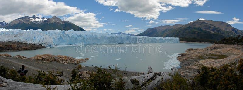 El glaciar en Patagonia, la Argentina de Perito Moreno. imagen de archivo