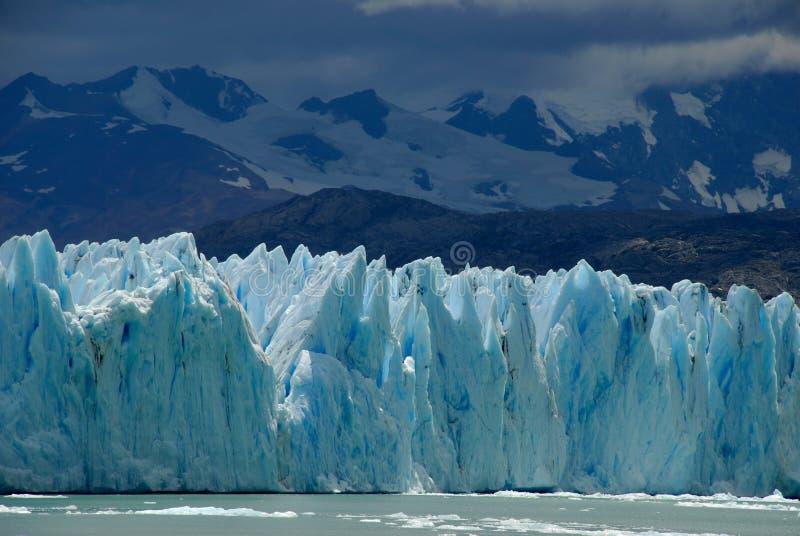 El glaciar en Patagonia, la Argentina de Perito Moreno. fotografía de archivo libre de regalías
