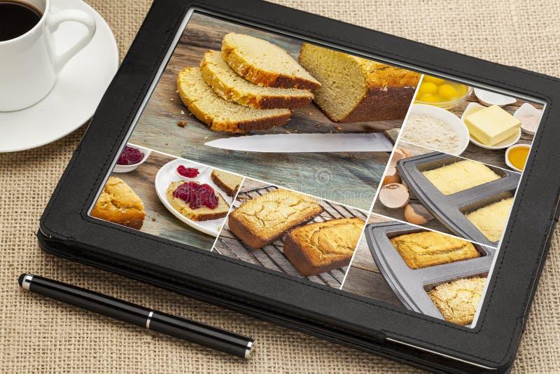 El gluten de la hornada libera el pan imagenes de archivo