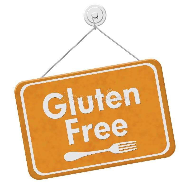 El gluten del hallazgo libera la comida fotografía de archivo