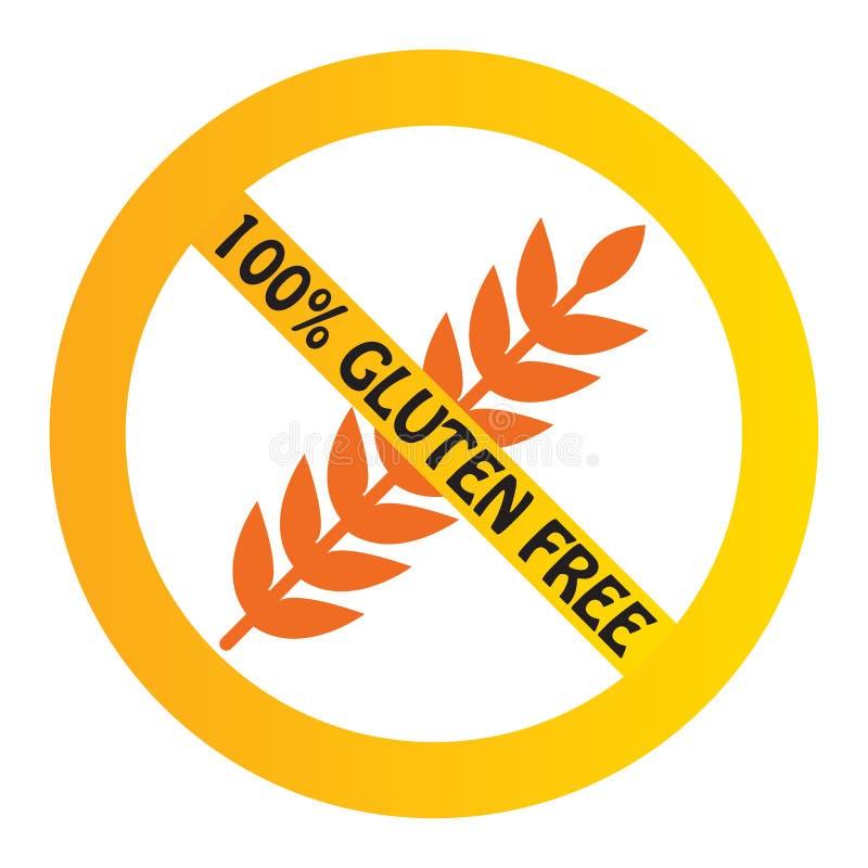 El gluten libera ilustración del vector