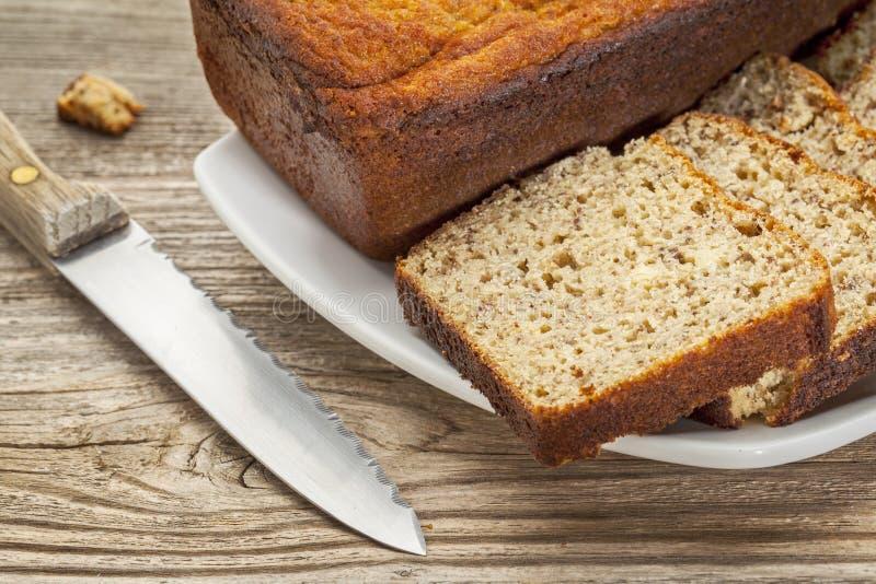 El gluten libera el pan foto de archivo