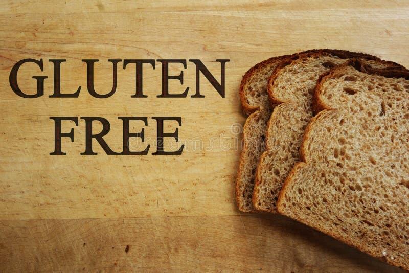 El gluten libera el pan imagen de archivo libre de regalías