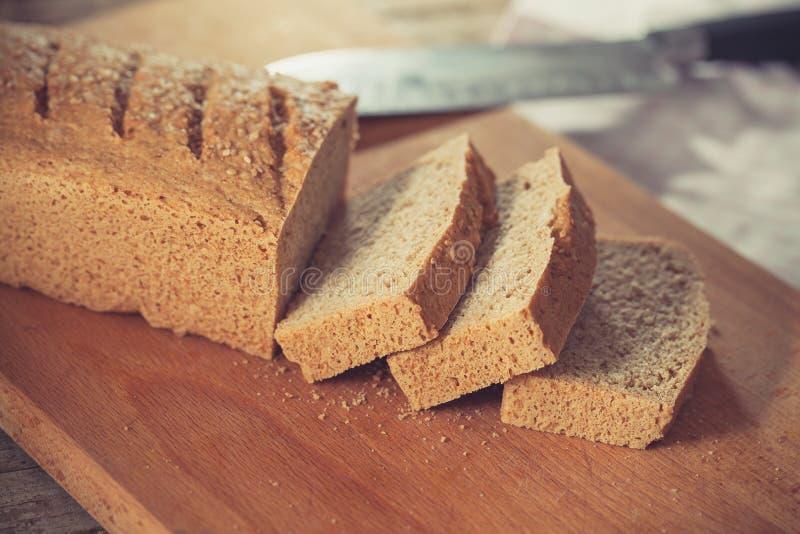El gluten libera el pan imagen de archivo