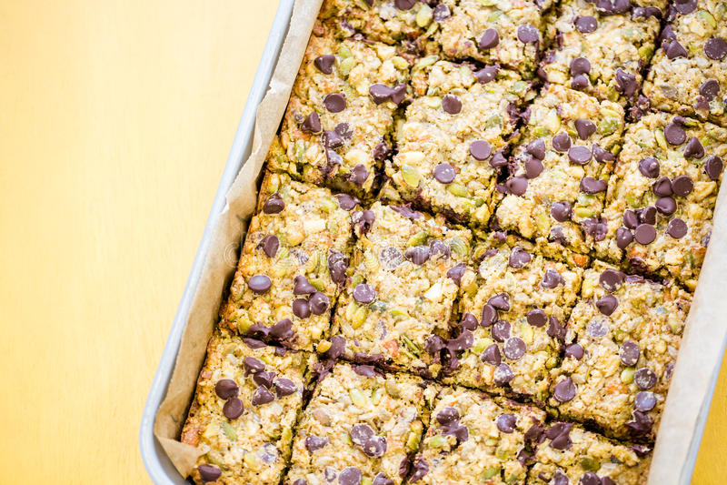 El gluten libera el postre imagen de archivo libre de regalías