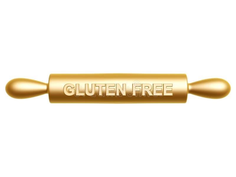 El gluten libera el rodillo imagenes de archivo